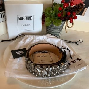 Moschino Couture belt